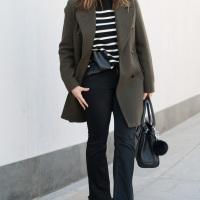 Pantalón de campana + chaquetón